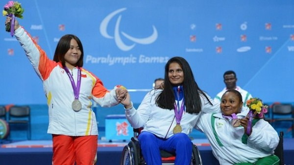 Souhad Ghazouani of France Winning Gold in Powerlifting!